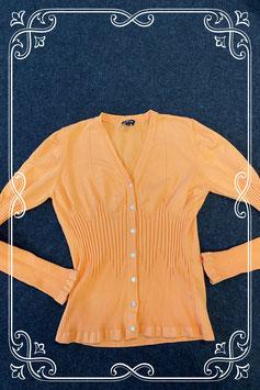 Nieuw! Oranje getailleerd vest van Leon maat S