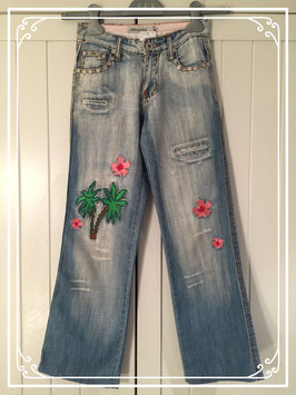 Lichtblauwe jeans van Cars Jeans - maat 152