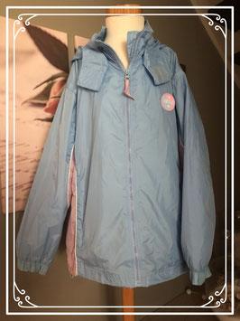 Dunne zomerjas in het blauw/roze - Maat 140
