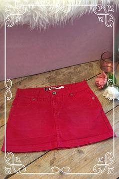 Rood jeans rokje van SOHO-maat 152