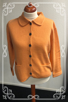 Warm oranje wintervest maat XL