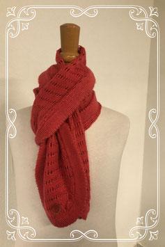 Leuke sjaal met ronde uiteindes