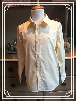 Geel hemd met lange mouwen van L.O.G.G. - maat 134