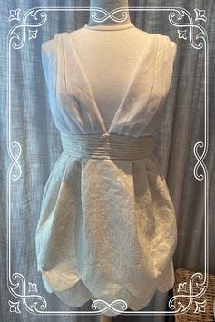 Nieuw zandkleurig jurkje van de H&M - maat 38