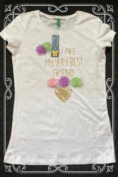Nieuw! Leuk shirt van United Colors of Benneton maat 146/152