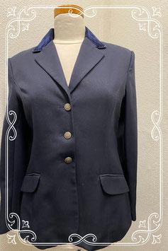 Donkerblauw paardrij jas van Harry's Horse maat 40