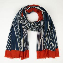 Nieuw: Sunset Fashion - Lange sjaal met print - Blue
