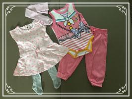 Vrolijk kleding setje - Maat 74-80