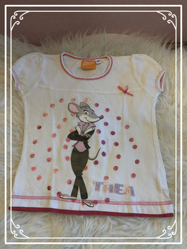Wit T-shirt van Geronimo Stilton - Maat 110