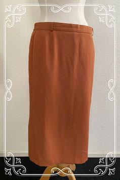 Deftige bruine rok van Collection Saphir maat 42