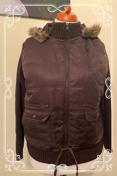 Nieuw! Mooie bruine jas van C&A maat XL