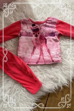 Leuke roze pyjama - maatje 62