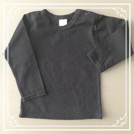 Zwart lange mouwen shirt - Maat 68