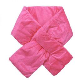 Nieuw: Yehwang - Scarf Velvet Puffer - Pink - 15 x 130 cm