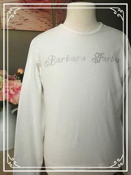 Spierwit shirt van Barbara Farber - maat 158-164