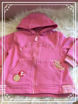 Roze vest - maat 92-98