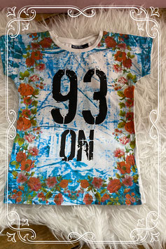 Sportief tie-dye shirt van Tom-Du - Maat 116-122