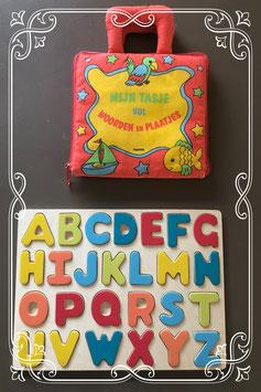 2 delige set met letters, woorden en plaatjes
