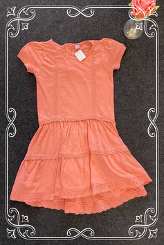 Leuk oudroze jurkje van Dopo Dopo Girls maat 128