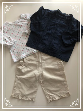 Chique kleding set - Maat 68