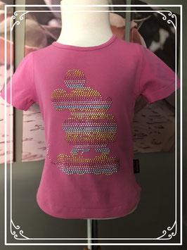 Roze t-shirt van Disneyland Paris - Maat 98-104