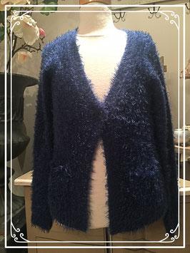 Nieuw: blauw vest van Ai Girl - maat 146-152