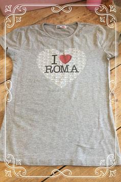 Lichtgrijs T-shirt met tekst van ACESSORI&CO - Maat L