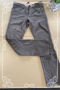 Donkergrijze broek van H&M maat 38