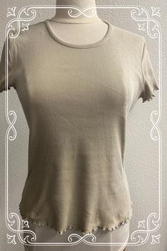 Beige shirt van Didi maat 42