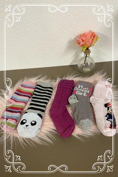 5 paar vrolijke sokken maat 5 tot 8 jaar