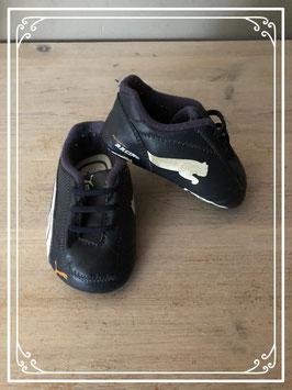 Zwarte Puma schoentjes - Maat 18