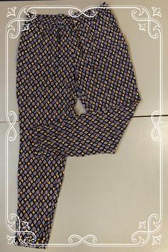 Nieuw! Soepele en vrolijke broek van C&A maat 38