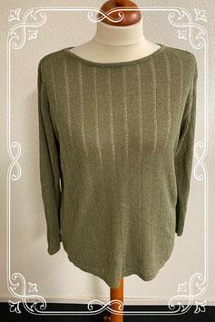 Mooie groene trui van Vroom & Dreesman maat XL