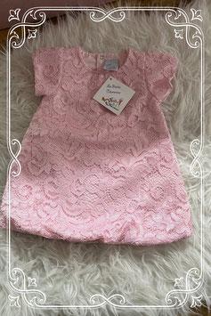 NIEUW: roze jurkje van la petite couronne - maat 68