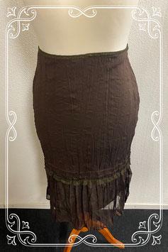 Sierlijke bruine rok van Vero Moda maat L
