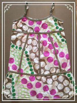 Kleurrijk jurkje van Jill - maat 140