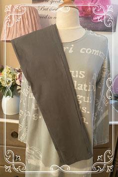 Set van tregging met lange trui-jurk van transfer - Maat M