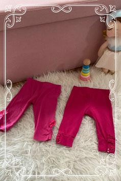 Set van twee roze leggings van Frendz en Baby Blue - maat 68