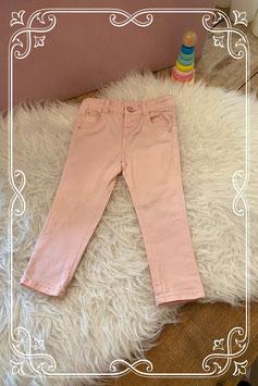 Roze broekje van de HEMA - maat 80
