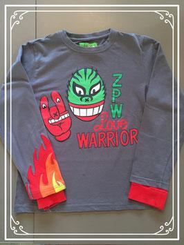 Zulupapuwa shirt met lange mouwen - maat 146-152