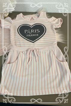 O la la Roze jurkje Paris van 18 Mois Maat 86