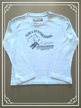 Lichtblauw shirtje van Filou & Co - maat 110