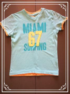 T-shirtje in California stijl - maat 116-122