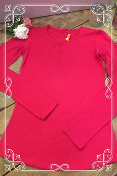 Nieuw: Roze lange mouwen shirt van HEMA - maat 158-164