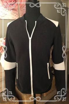 Zwart-wit vest van GSUS-maat M