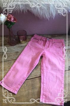 'Roze driekwart spijkerbroek van Coolcat Girls - maat 146-152