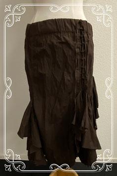 Nieuw! Sierlijke bruine rok van M&S Mode in maat M