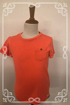 Mooi oranje shirt van WE maat 122/128