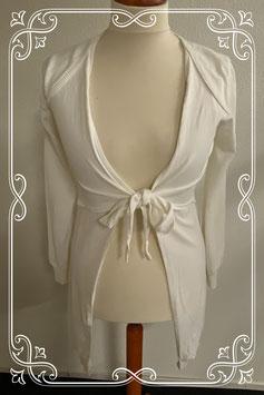 Nieuw! Lang wit vest van het merk Kirsten maat 36