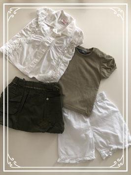 Chique kleding set - Maat 74